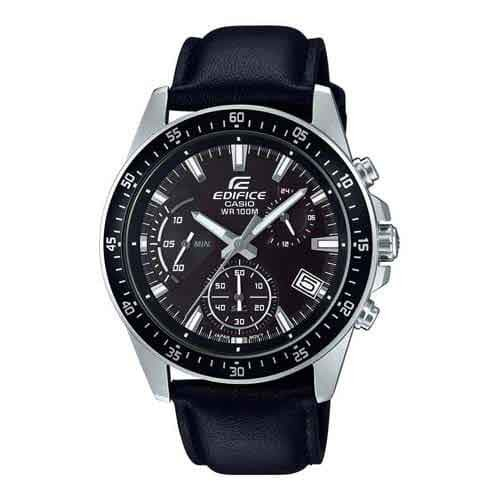 Casio Edifice Analog Black Dial Men's Watch - EFV-540L-1AVUDF (EX391)