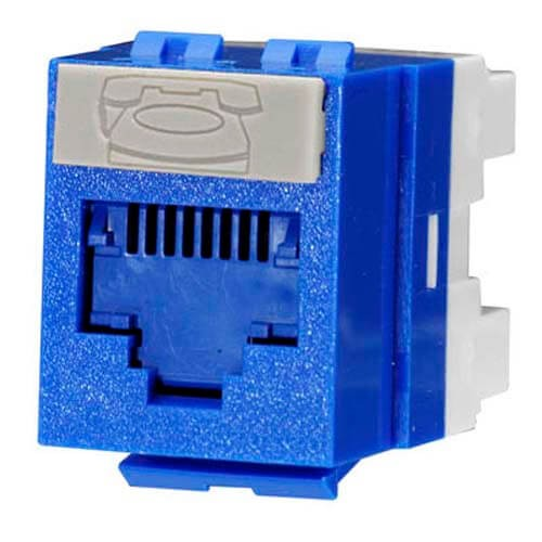 Molex CAT 6 I/O Blue KSJ-00018-BL-I (Pack of 10)