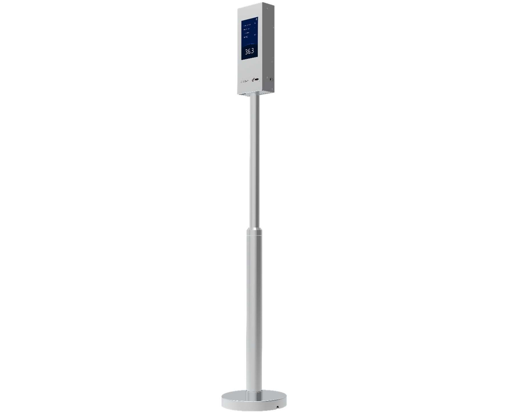 unv OTC-513 Standing Pole-mounted Body Thermometer
