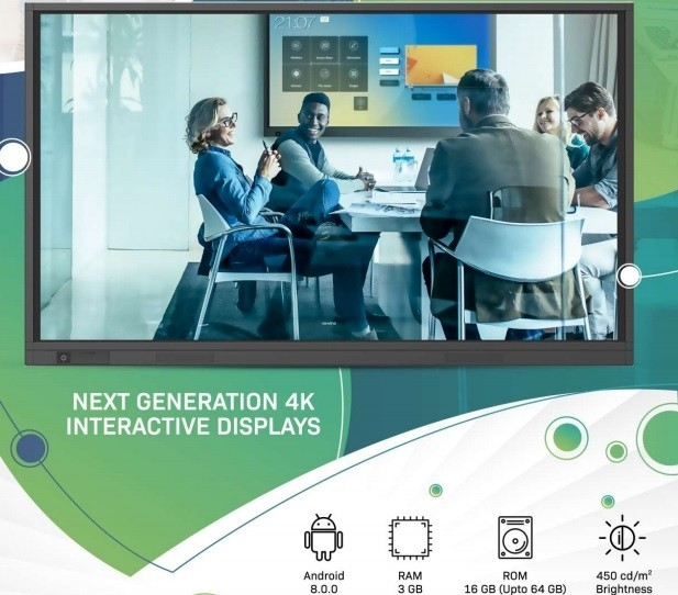newline TRUTOUCH RS65+ 4K DISPLAYS-TT-6519RS