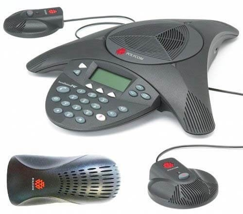 Polycom SoundStation 2 Expandable with 2 Mics Included | Analogue Conference Phone