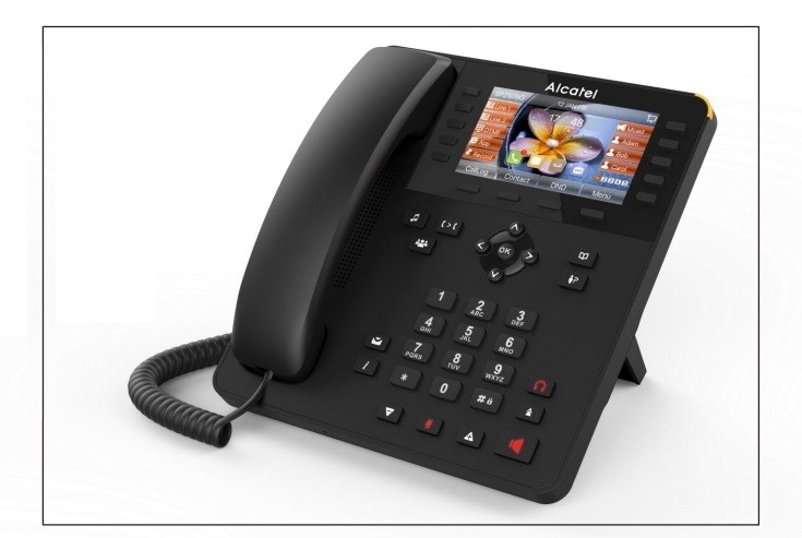 Alcatel SP2505G IP Phone with Caller id & 6 SIP Account