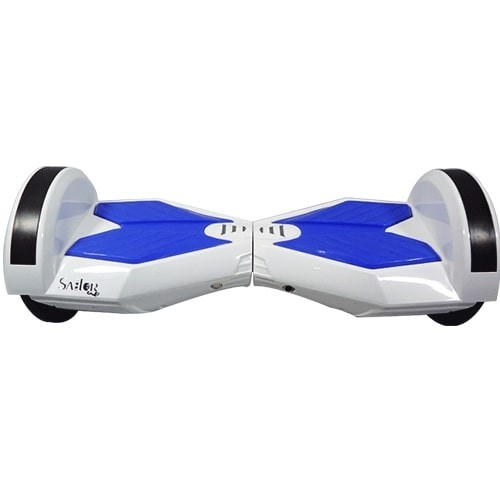 Sailor 2 Wheels Self Balancing Scooter-Hoverboard-Segway-BATTBOT with 6 Months Warranty (Turbo White)