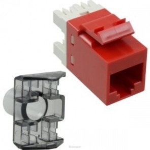 COMMSCOPE/AMP CAT 6 I/O Red (Pack of 10)-1375055-7