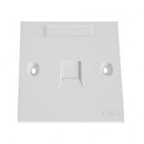 COMMSCOPE/AMP Face Plate Single Port (Pack of 10)-235001-1