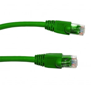 Netshell CAT6 UTP Patch Cable 1.5Feet Green (Pack of 5)