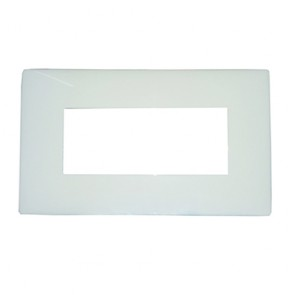 Legrand Electrical Wall Plate for Switch 4 Port (Pack of 5)-675564