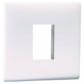 Legrand Electrical Wall Plate for Switch Single Port (Pack of 5)-674551