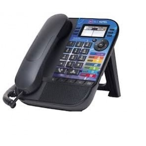 Alcatel-Lucent 8019s DeskPhone with customized faceplate