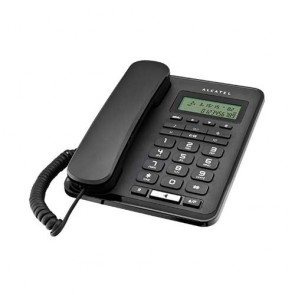 Alcatel T50 Corded Landline Phone With Caller Id Speaker Phone (Black)