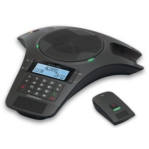 Alcatel Conference 1500 Analogue conferencing phone with 2 detachable DECT microphones with 6 Months Warranty