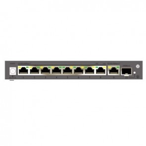 CP Plus 8 Port Gigabit POE Switch with 1 Giga and 1 Giga Fiber (CP-TNW-GP8G1F1-12)