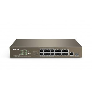 IP-COM F1118P-16-150W- 16 10/100Mbps +1 Gigabit/SFP Slots Switch With 16-Port PoE