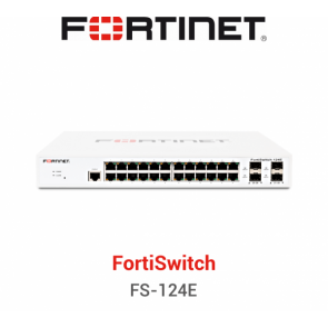 Fortinet FortiSwitch FS124E Secure Access Switches