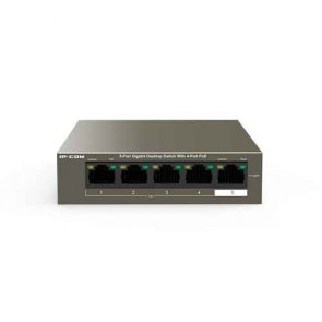 IP-COM G1105P-4-63W 5-Port Gigabit Desktop Switch with 4-Port PoE