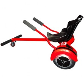 Sailor Go-Kart with 8 inches 2 Wheels Self Balancing Scooter-Hoverboard-Segway-BATTBOT with 6 Months Warranty-Red