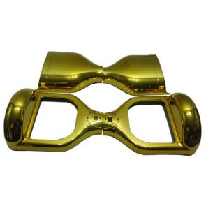 Classic Golden Chrome Multicolor Hoverboard Shell for 6.5 inch Hoverboard/Electric Scooter
