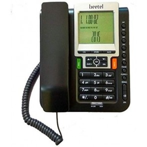 Beetel M71 Corded Landline Phone-Black