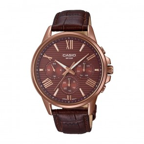Casio Analog Brown Dial Men's Watch-MTP-EX300RL-5AVDF (A1611)