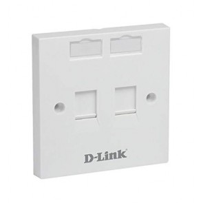 D-Link Face Plate Dual Port-NFP-0WHI21 (Pack of 10)