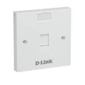 D-Link Face Plate Single Port-NFP-0WHI11 (Pack of 10)