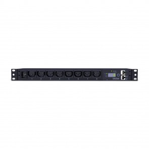 CyberPower PDU15MHVIEC8FNET 1U Rackmount Monitored Power Distribution Unit