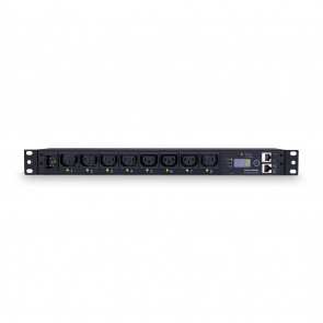 Cyberpower PDU15SWHVIEC8FNET 1U Rackmount Power Distribution Unit