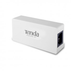 Tenda 30W Gigabit Ethernet PoE+ Injector Adapter, 802.3at & 802.3af Compliant (POE30G-AT)
