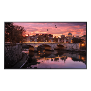 "Samsung QBR Series 55"" QB55R - Edge-Lit 4K UHD LED Display for Business"