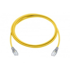 R&M R196106 CAT 6 Patch Cable 1mtr-Yellow(Pack of 5)