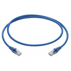 R&M Cat6 UTP Patchcords, 1M, LSZH Blue-R196126 (Pack of 5)