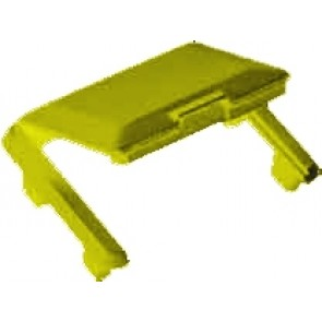 R&M Hinged Dust Cover -Yellow-R305688 (Pack of 10)