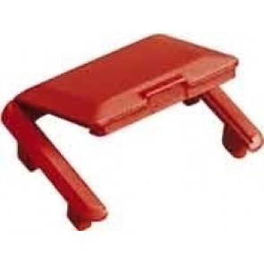 R&M Hinged Dust Cover -Red-R305691 (Pack of 10)