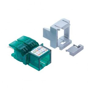 R&M CAT 6 I/O Green for Patch Panel-R810598 (Pack of 5)
