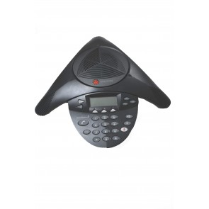 Polycom SoundStation2 Expandable Conference Phone With Display (Refurbished)