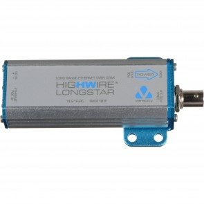 Veracity HIGHWIRE Longstar Long-range POE over Coax, BASE unit-VLS-1P-BC
