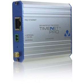 Veracity TIMENET Pro, POE-powered NTP Master Time Server (inc. antenna)-VTN-TN-PRO
