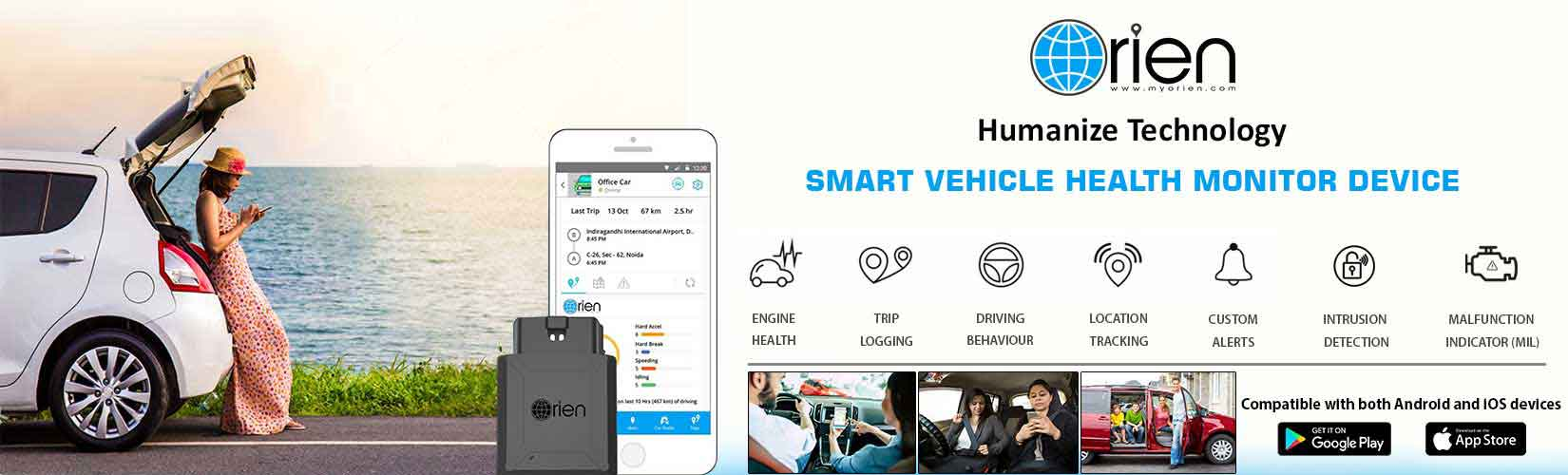 myOrien Car Health Monitor Device